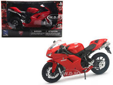 DUCATI 1198 RED 1/12 MOTORCYCLE MODEL BY NEW RAY 57143 AS