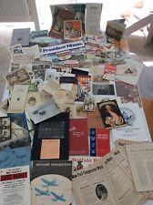Big Paper Ephemera Vintage Photos Postcards Military Panama Canal Germany Ads +