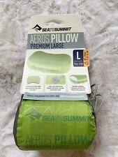 Sea To Summit Aeros Ultralight Pillow Size L In Lime $47.95