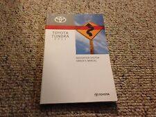 2011 Toyota Tundra TRD Factory Navigation System Owner User Manual Guide Book
