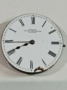 French Royal Exchange London Repeating Pocket Watch Movement. Spares or repair.