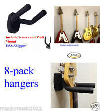 Eight Guitar Hangers Wall Mount Adjustable Arm Display Holder Acoustic GRAK1-Q8