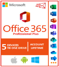 Microsoft office 365 2019 lifetime account ✅ trusted seller