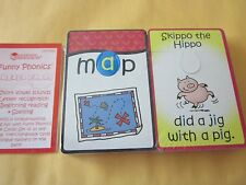 Learning Resources  2 Piece Short Vowel Sounds Puzzle Cards Phonics Reading NEW