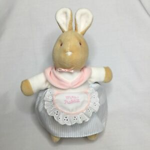Eden Mrs Rabbit Plush Bunny Frederick Warne Lovey Nursery Easter 2007 Velour