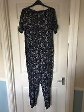 Womens Warehouse Floral Jumpsuit Size 14