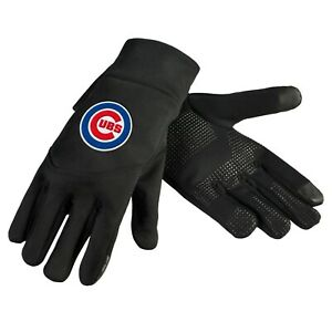 Chicago Cubs Neoprene Gloves Sports Logo Winter NEW Texting Tips - High End