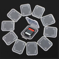 10X SD Card Case Holder - Micro SDHC Memory Hard Protective Box 32gb 64gb Useful
