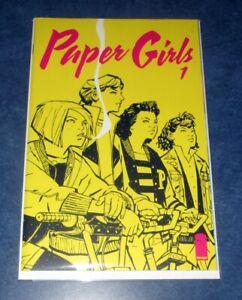 PAPER GIRLS #1 1st print BRIAN K VAUGHN iMAGE COMIC 2015 AMAZON SERIES optioned