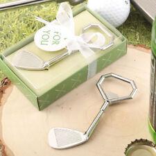 18 Golf Club Design Metal Bottle Opener Bridal Shower Wedding Favors