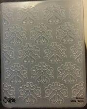 Sizzix grande carpeta de grabación en relieve Papel Tapiz de belleza clásica 4.5x5.75in