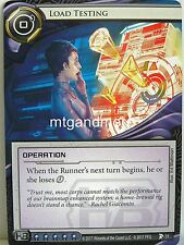 Android Netrunner LCG - 1x #031 Load Testing - Station One