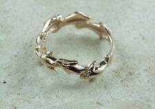 Kabana Dolphin Ring Band 14K Yellow Gold Size 4 ¾ WHOLESALE