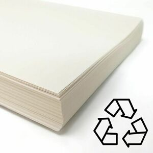Recycled White Cartridge Paper 140gsm Art Paper 100% British  A1, A2, A3, A4