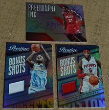 2014-15 Prestige Auto & Jersey/#75 3 Card-Lot!!(T. Young,Smith,Lawson)
