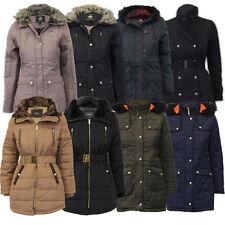 Polyester Hood Coats & Jackets for Women