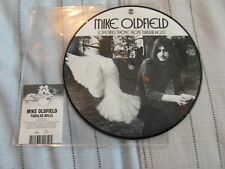 """MIKE OLDFIELD-OPENING THEME FROM TUBULAR BELLS 7"""" PICTURE DISC RSD 2013 VINYL"""