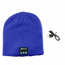 2019 Warm Beanie Hat Wireless Bluetooth Smart Cap Headset Headphone Speaker Mic