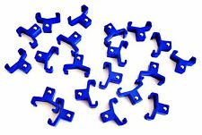"""20 GOLIATH INDUSTRIAL ABS 3/8"""" BLUE REPLACEMENT SOCKET RACK RAIL CLIPS SC38B"""