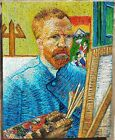 Beautiful painting. Vincent Van Gogh. Oil on Canvas. Unframed. Signed