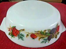 1960's JAJ PYREX Market Garden Casserole Dish 9.5 inches/24cm – VGC - NO LID