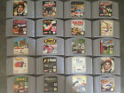 Various Nintendo 64 N64  Games Multi Listing Priced From Just £3.95 Good Mix
