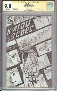 KAIJU SCORE #1 EL REY COMICS VARIANT CGC SS 9.8 SIGNED BY JAMES PATRICK
