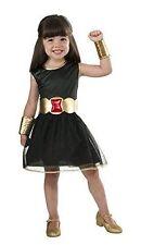 Marvel Halloween Black Widow Costume Tutu Dress, Childs Girls Medium Size 8-10