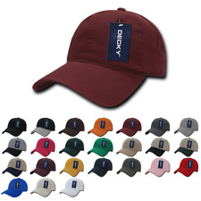DECKY ADJUSTABLE WASHED COTTON HAT.  VARIETY OF COLORS AVAILABLE.