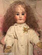 Pequeña Muñeca SIMON HALBIG cabeza de Biscuit muñeca bebé tamaño 38 Cm