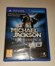 Michael Jackson The Experience HD Ps Vita New Sealed PAL Sony Playstation SV UK