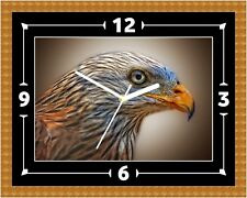 Eagle Bird Of Prey Wall Clock Present Christmas Birthday (Can Be Personalised)