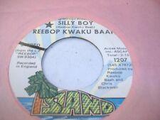 Soul Promo 45 REEBOP KWAKU BAAH Silly Boy on Island (promo)
