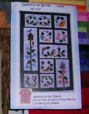"""Gallery of Birds"" by Cottage Quilt Designs Quilt Kit"