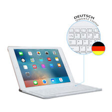 QWERTZ Tastatur Weiß iPad 2018 2017 9.7 Air 1 2 iPad Pro 12.9 Bluetooth Keyboard