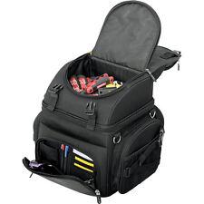 Saddlemen BR1800 Back Seat/Sissy Bar Luggage Bag for Harley Touring Motorcycle