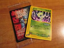 SEALED Pokemon CELEBI Card BLACK STAR PROMO Set #50 4EVER Voice of the Forest