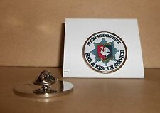 20 FIRE e Rescue Service bavero pin badge