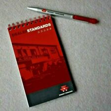 Massey Ferguson Pocket Notepad and Pen from 2008