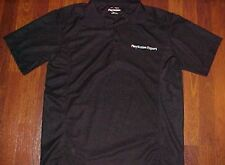 Play Station Expert Men Black Polyester Sewn Polo Shirt L