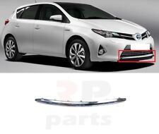 FOR TOYOTA AURIS 2013-2015 NEW FRONT BUMPER GRILL LOWER CHROME TRIM