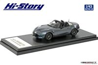 Hi Story 1/43 Mazda ROADSTER RS (2020) Polymetal Gray Metallic Completed