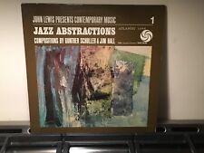 JOHN LEWIS - Jazz Abstractions ~ATLANTIC 1365 {nm orig} w/ORNETTE, DOLPHY LaFARO