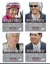 Set of 4 Horse Racing Cards. Craig Dollase, Bob Baffert, Bailey, Todd Pletcher