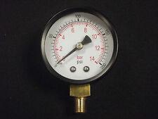 Druckmesser 1/8 Bsp Unten Eingang 50mm Dial 0-200 Ps ,2 Inch