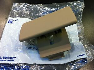 06 07 08 09 10 HUMMER H3 GLOVE BOX HANDLE DASH LATCH CASHMERE NEW GM