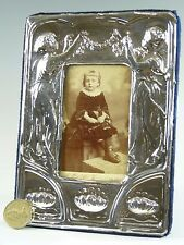 """Sterling Silver - EDWARDIAN Style Photo / Picture FRAME - 6 1/2"""" Tall - SF122"""