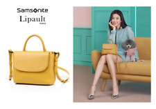 SAMSONITE Lipault Plume Elegance Mini Handle Bag with Free Gift Free Shipping