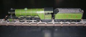 "Bassett-Lowke electric LNER ""Flying Scotsman"" Loco & Tender pre-war no. 4472"