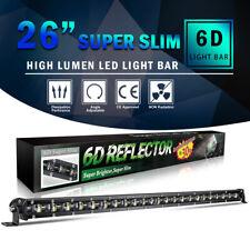 "26""inch 618W Combo Slim LED Work Light Bar Single Row Car 4WD Off road 22"" 32"""
